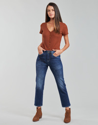 Textiel Dames Straight jeans Freeman T.Porter MONIKA SDM Blauw