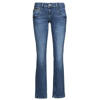 Textiel Dames Straight jeans Freeman T.Porter ALEXA STRAIGHT SDM Blauw / Donker