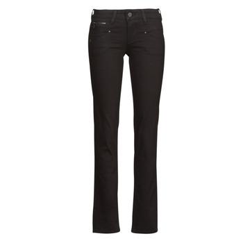 Textiel Dames Straight jeans Freeman T.Porter ALEXA STRAIGHT S-SDM Zwart