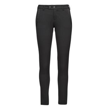 Textiel Dames 5 zakken broeken Freeman T.Porter TESSA CLASSICO Zwart