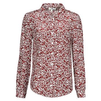 Textiel Dames Tops / Blousjes Freeman T.Porter KATY MIRABILIS Rood / Wit