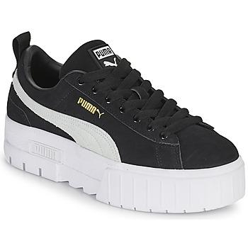 Schoenen Dames Lage sneakers Puma MAYZE Zwart / Wit