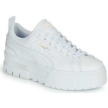 Schoenen Dames Lage sneakers Puma MAYZE Wit