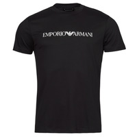 Textiel Heren T-shirts korte mouwen Emporio Armani 8N1TN5 Marine