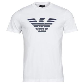 Textiel Heren T-shirts korte mouwen Emporio Armani 8N1TN5 Wit