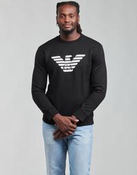 Textiel Heren Sweaters / Sweatshirts Emporio Armani 8N1MR6 Zwart