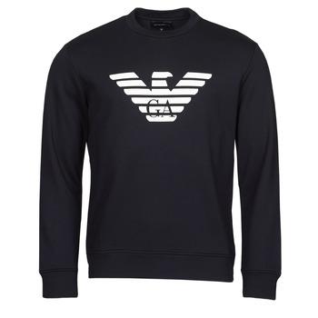 Textiel Heren Sweaters / Sweatshirts Emporio Armani 8N1MR6 Marine