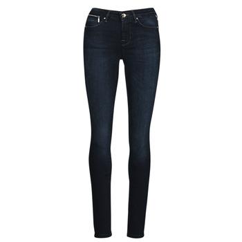 Textiel Dames Skinny jeans Only ONLISA Blauw / Donker