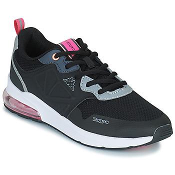 Schoenen Meisjes Lage sneakers Kappa SPLINTER LACE KID Blauw / Roze
