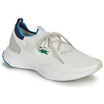 Schoenen Heren Lage sneakers Lacoste RUN SPIN KNIT 0121 1 SMA Wit / Blauw