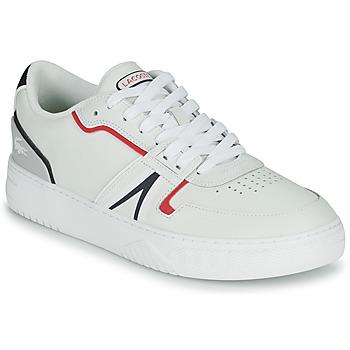 Schoenen Heren Lage sneakers Lacoste L001 0321 1 SMA Wit / Rood / Blauw