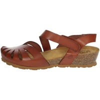 Schoenen Dames Sandalen / Open schoenen Yokono MONACO-114 Brown leather
