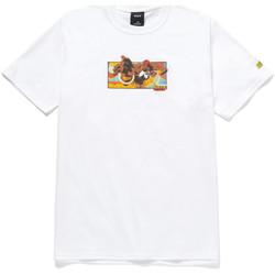 Textiel Heren T-shirts korte mouwen Huf T-shirt dhalsim ss Wit