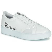 Schoenen Heren Lage sneakers John Galliano MISSISSIPPI Wit