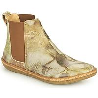 Schoenen Dames Laarzen El Naturalista CORAL Grijs