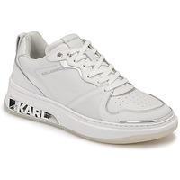 Schoenen Dames Lage sneakers Karl Lagerfeld ELEKTRA LAY UP LO Wit