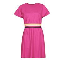 Textiel Dames Korte jurken Karl Lagerfeld LOGO TAPE JERSEY DRESS Roze