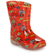 Schoenen Jongens Regenlaarzen Be Only CYBORG Rood