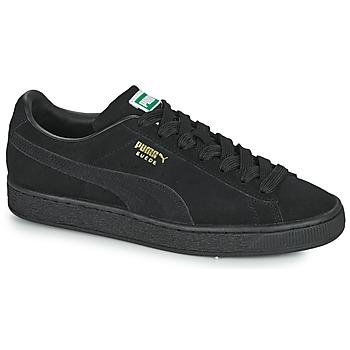 Schoenen Lage sneakers Puma SUEDE Zwart