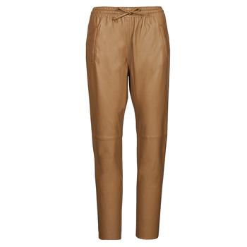 Textiel Dames 5 zakken broeken Oakwood GIFT  camel
