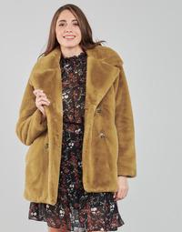 Textiel Dames Mantel jassen Oakwood PERSHING  camel