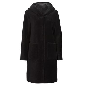 Textiel Dames Mantel jassen Oakwood ANGELIQUE Zwart