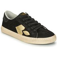 Schoenen Dames Lage sneakers Le Temps des Cerises AUSTIN Zwart / Goud