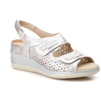 Schoenen Dames Sandalen / Open schoenen Gavi's Shoes Para Ella Sandalias anatómicas de piel by CBP Argenté