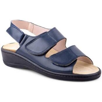 Schoenen Dames Sandalen / Open schoenen Cbp - Conbuenpie Sandalias anatómicas de piel by CBP Bleu