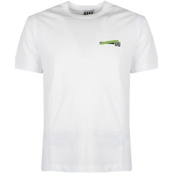 Textiel Heren T-shirts korte mouwen Les Hommes  Wit