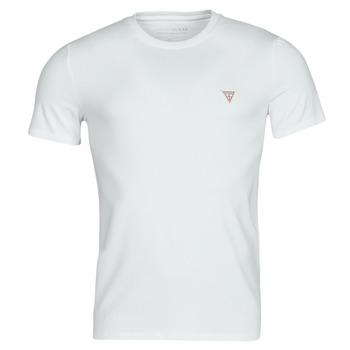 Textiel Heren T-shirts korte mouwen Guess CN SS CORE TEE Wit