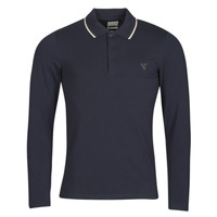 Textiel Heren Polo's lange mouwen Guess OLIVER LS POLO Marine