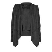 Textiel Dames Leren jas / kunstleren jas Guess SOFIA JACKET Zwart