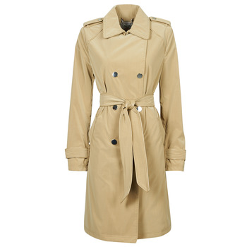 Textiel Dames Trenchcoats Guess SUSAN TRENCH Beige