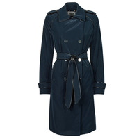 Textiel Dames Trenchcoats Guess SUSAN TRENCH Marine