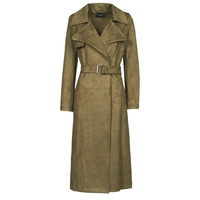 Textiel Dames Trenchcoats Guess BARAA TRENCH Brown