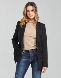 Textiel Dames Jasjes / Blazers Guess AIDA JACKET Zwart