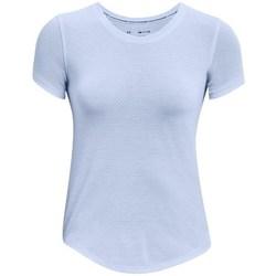 Textiel Dames T-shirts korte mouwen Under Armour Streaker Run Bleu