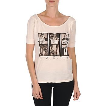 Textiel Dames T-shirts korte mouwen Bench CREEPTOWN Roze