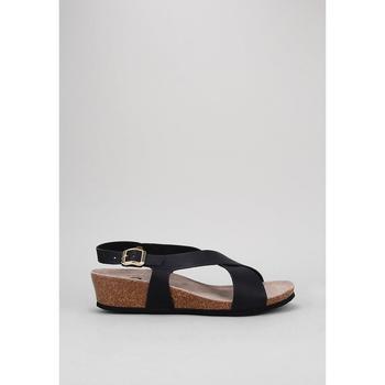 Schoenen Dames Sandalen / Open schoenen Senses & Shoes  Zwart