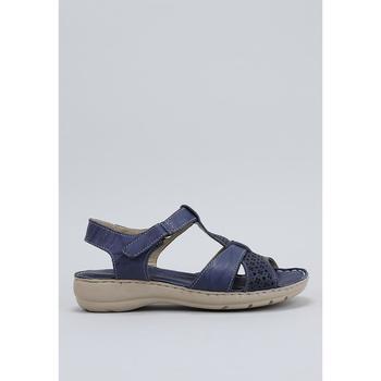 Schoenen Dames Sandalen / Open schoenen Amanda  Blauw