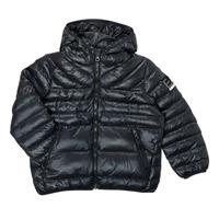 Textiel Jongens Dons gevoerde jassen Emporio Armani EA7 FHALIA Zwart