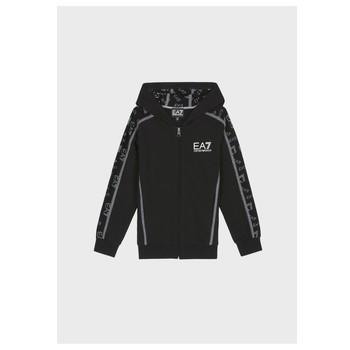 Textiel Jongens Sweaters / Sweatshirts Emporio Armani EA7 MANTHA Zwart