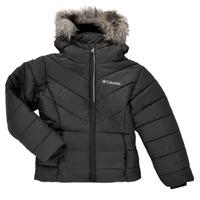 Textiel Meisjes Dons gevoerde jassen Columbia KATELYN CREST Zwart