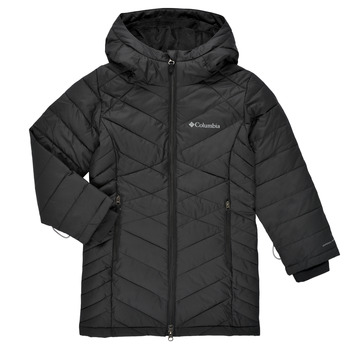 Textiel Meisjes Dons gevoerde jassen Columbia HEAVENLY LONG JACKET Zwart