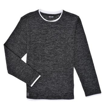 Textiel Jongens T-shirts met lange mouwen Deeluxe MONAN Zwart