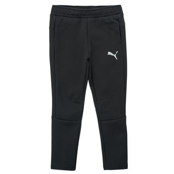 Textiel Jongens Trainingsbroeken Puma EVOSTRIPE PANT Zwart