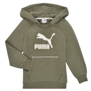 Textiel Jongens Sweaters / Sweatshirts Puma T4C HOODIE Kaki