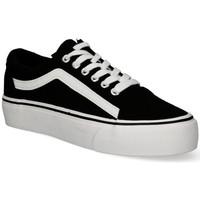 Schoenen Dames Lage sneakers Luna Collection 55259 zwart