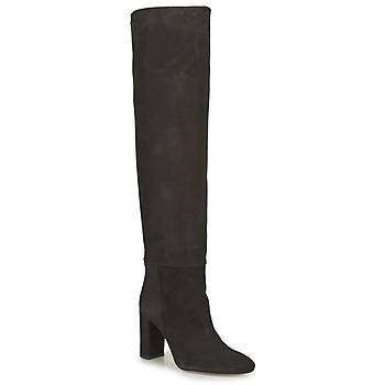 Schoenen Dames Hoge laarzen Jonak CANVA Zwart